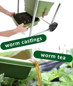 Hungry Bin Flow Through Composter Worm Tea Tray