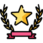 Best overall badge