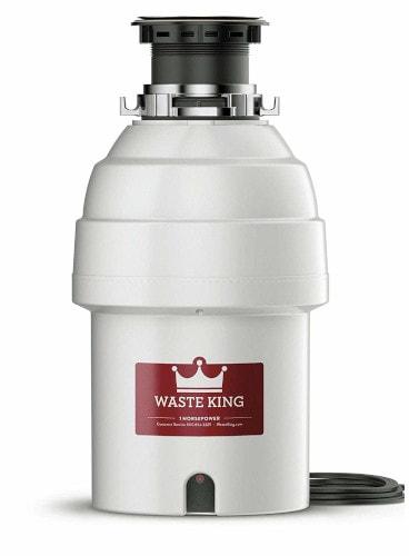 Waste King Legend L8000 1HP septic tank safe waste disposal